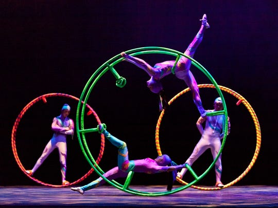 Cirque Ziva brings its artistic, athletic extravaganza to downtown Wausau.
