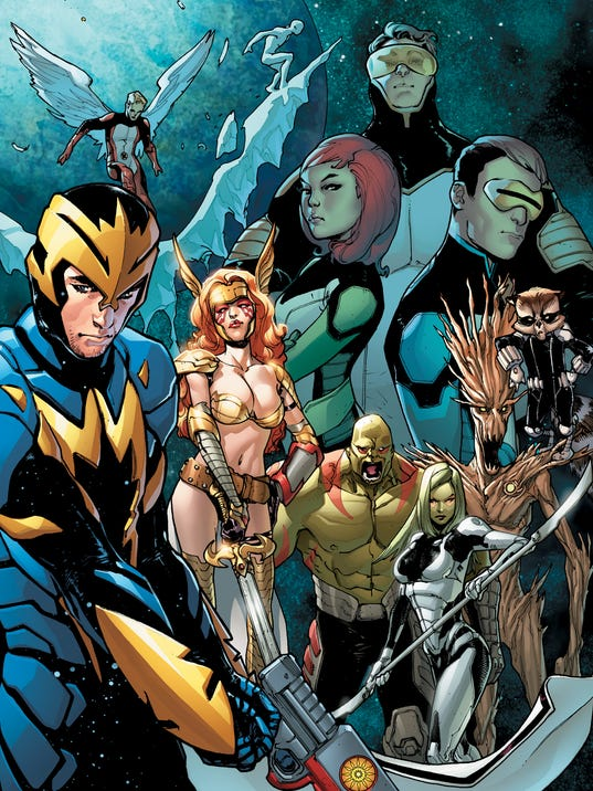 The guardians of the galaxy and the original x men team up for a big