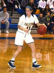 Saddle Brook sophomore guard Ashley Georgevich was