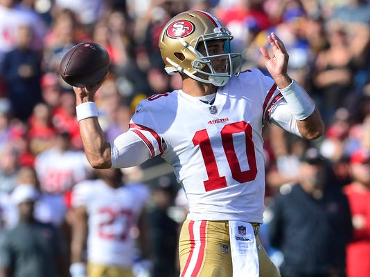 NFL: San Francisco 49ers at Los Angeles Rams