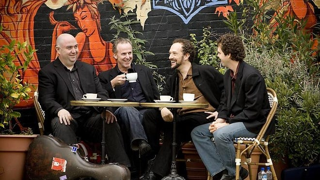 The Los Angeles Guitar Quartet will perform Monday in the Peace Center's intimate Gunter Theatre. Members of the quartet are, from left, Scott Tannant, John Dearman, William Kanengiser and Matthew Greif.
