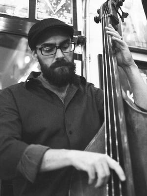 Upright bass player Brian Hofflander of New Vintage Jazz is set to perform with the band Saturday in Florence.