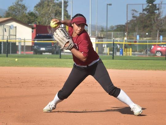 Santa Paula High's Danielle Diaz was named the MVP