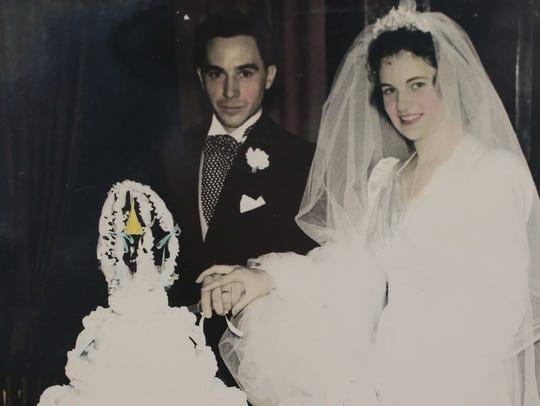 Betty Kasdorf's parents, Frank and Catherine Wick,