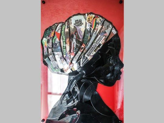 "Lobyn Hamilton's ""Head Wrap Lady"" incorporates album"