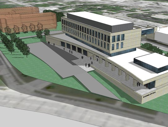 The third option for an all-new Waukesha City Hall