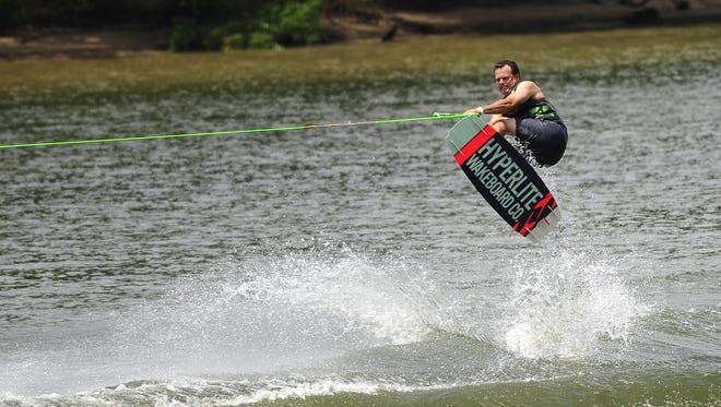 Sammy Roberts performs during the Riverfront Wake Battle on Saturday, August 9, 2014, in Montgomery, AL.