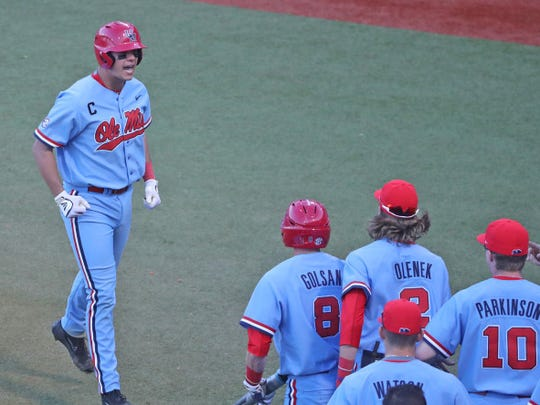 Colby Bortles (left) has heated up since SEC play started and has brought his average up to .286 from .204.