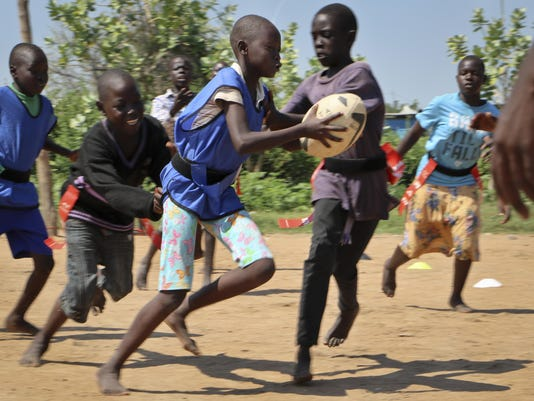 South Sudan Rugby and Peace
