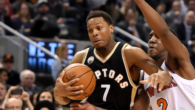 Kyle Lowry had 26 points and 10 assists for the Raptors.