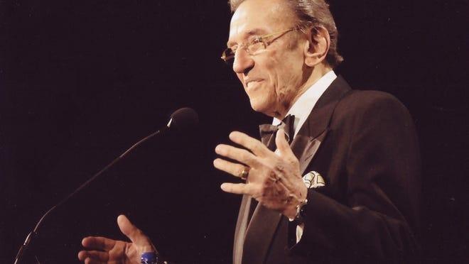 Comedian Norm Crosby.