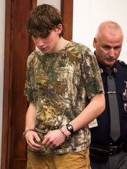 Jack Sawyer, 18, of Poultney, appears in Vermont Superior