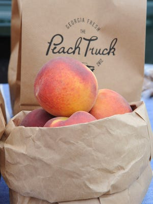 The Peach Truck has grown in popularity since it was founded several years ago.