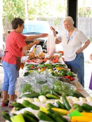 The Wichita Falls Downtown Farmers Market is open from