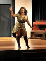 Desirae Lewis plays Deloris Van Cartier. The Millbrook