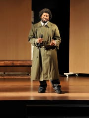 Dre Massey performs as Lt. Eddie Souther. The Millbrook