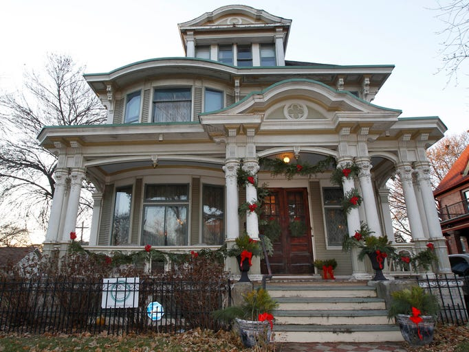 Michael and Kristi Westcott's 120-year-old home is