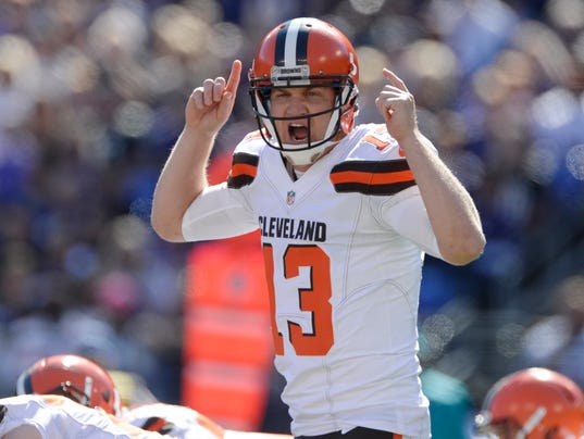 USP NFL: CLEVELAND BROWNS AT BALTIMORE RAVENS S FBN USA MD