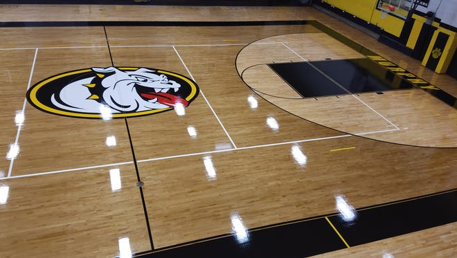 Murphy will have a renovated gym floor for the 2016-17 school year.