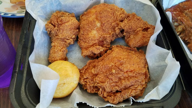Fried chicken good enough to please a southerner.