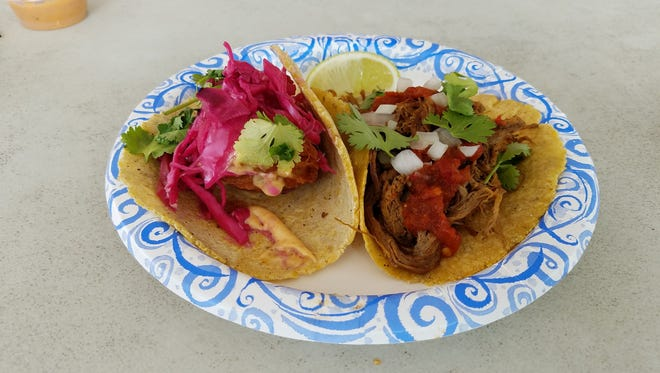 The Barbacoa taco from Heritage Taco has just the right combination of ingredients.