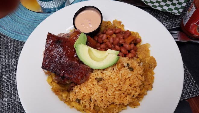 Online users recommended the Hungry 'Rican, which was a great deal.