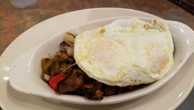 The Tuscan Heap (with choice of egg style) will keep you satisfied most of the day.
