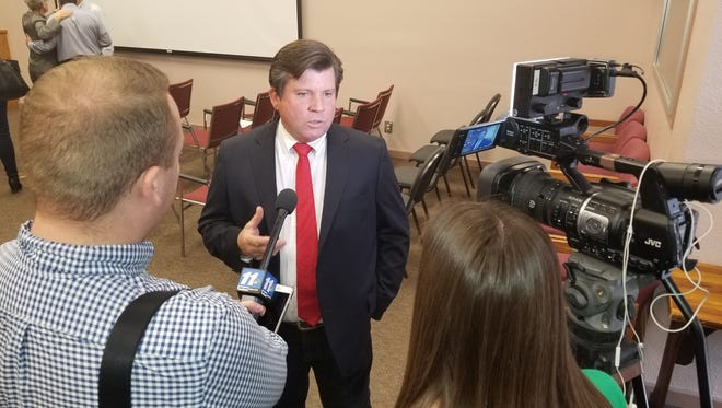 Tim Dunn has been appointed to Don Shooter's former seat in the Arizona House of Representatives.