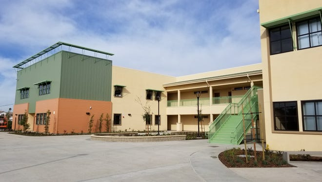 Lemonwood School in Oxnard is celebrating the completion of the first phase of construction.