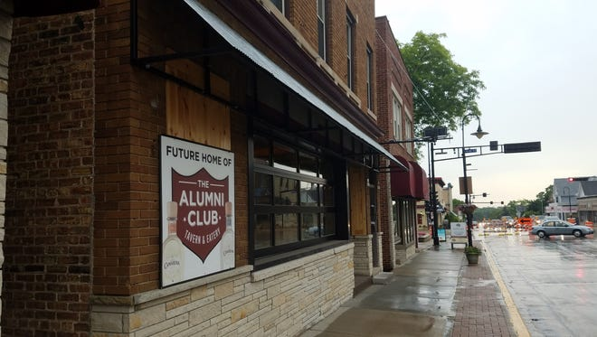 The Alumni Club on Appleton Avenue in Menomonee Falls will have soft openings in late October with a grand opening to follow.