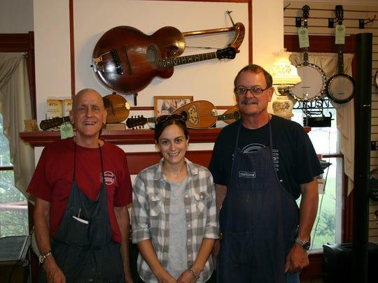 From left: Richard Stutzman, Megan Stutzman Wright
