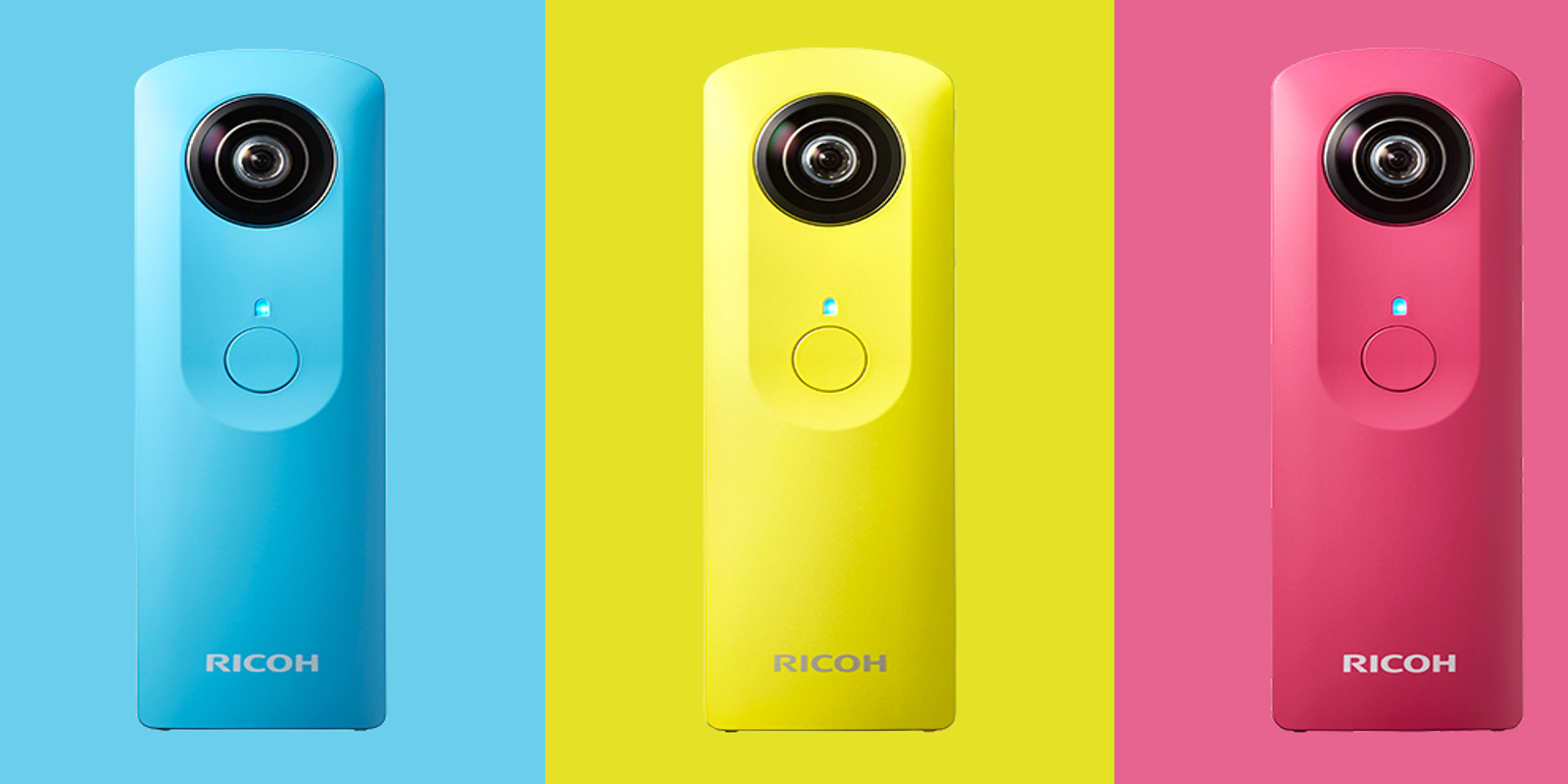 Shoot 360-degree video with Ricoh's newest camera