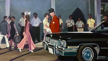 Paintings inspired by iconic film 'Nashville' on view at LeQuire Gallery