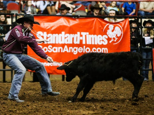 San Angelo Stock Show & Rodeo: Cinch Chute Out, Feb. 18, 2017
