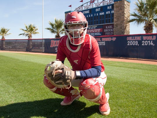 Dixie State's Jessica Gonzalez poses for a picture