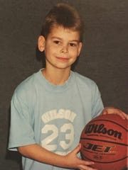 "Clay ""Boo"" Agee at 12-years-old played basketball for Stuarts Draft until eighth grade."