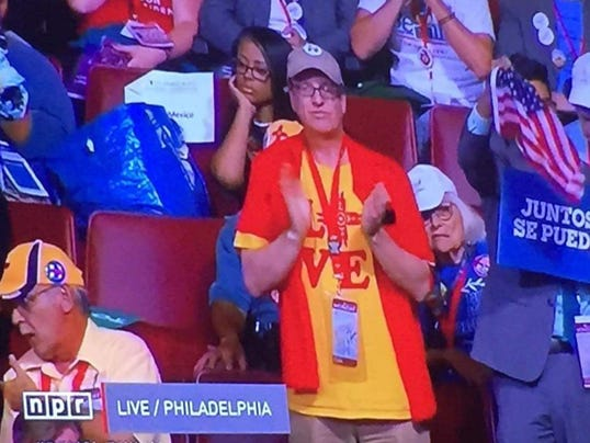 Steve Duffy represents in Philly