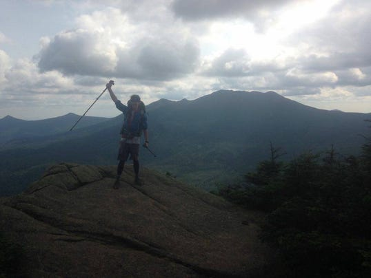 "Alexandria resident John ""Scuba"" Upton just completed hiking all 2,220 miles of the Appalachian Trail in six months."