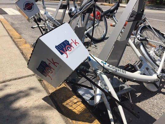 Zagster bike vandalism
