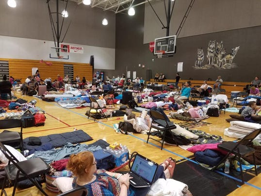 South Fort Myers High School shelter