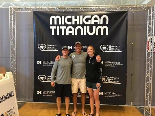 Marysville trio completes Michigan Titanium