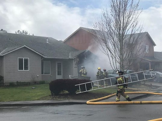 Salem home fire displaces family of seven