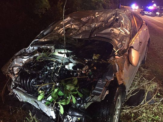 Man charged in dui after car crashes into river for Department of motor vehicles palm bay florida