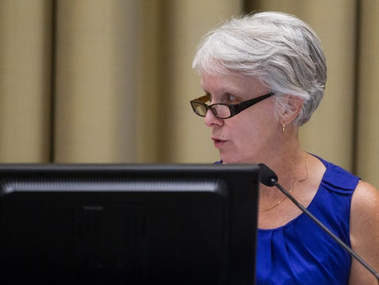 City Councilor Susan Mims is seen on Tuesday, July