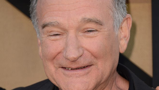 Robin Williams arrives at the CBS, CW and Showtime TCA party at The Beverly Hilton on  July 29, 2013 in Beverly Hills, Calif.