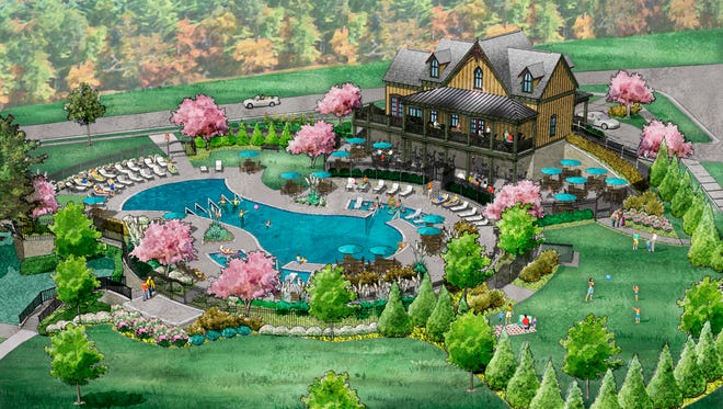 At Lockwood Glen in Franklin, homeowners will soon enjoy a $2 million residents club and resort-style pool, which are scheduled to open this summer.