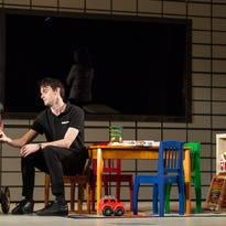 "David McElwee and Lexi Lapp in Actors Theatre of Louisville's production of ""Luna Gale"" by Rebecca Gilman."