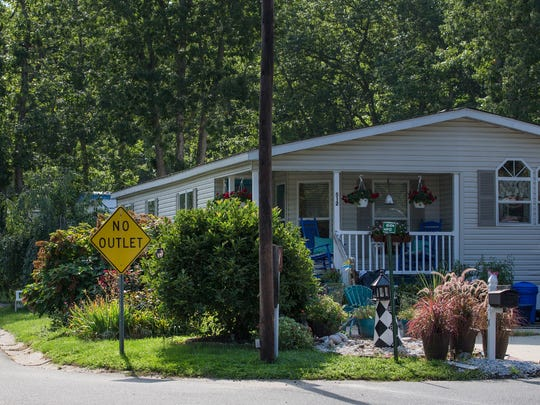 Roberts Mobile Home Park in northern Toms River on Route 9, a area which has seen drastic growth recently.