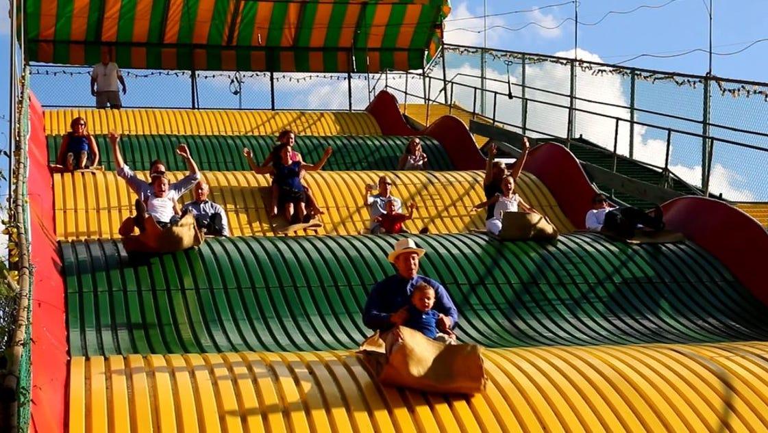 Iowa state fair 39 s giant slide begins new reichardt era - The giant slide apartament ...