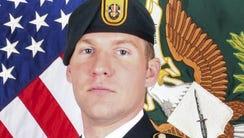 Staff Sgt. Matthew V. Thompson, 28, died on Aug. 23